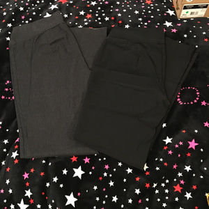 Maurices dress pants (1L) grey and black